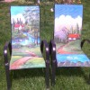 Painted Patio Sling Chairs